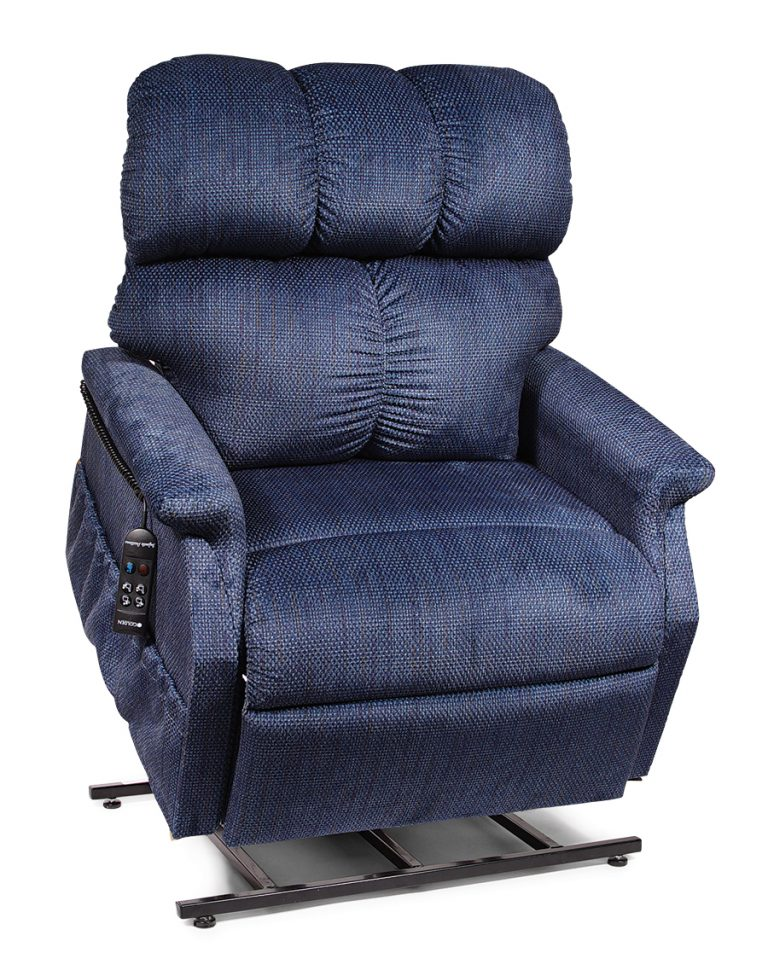 Power Lift Chair Recliner | MaxiComfort | Golden on