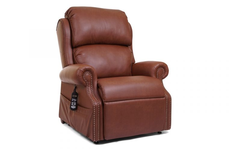 Golden Pub Chair Pr713 Power Recliner With Lift Brass