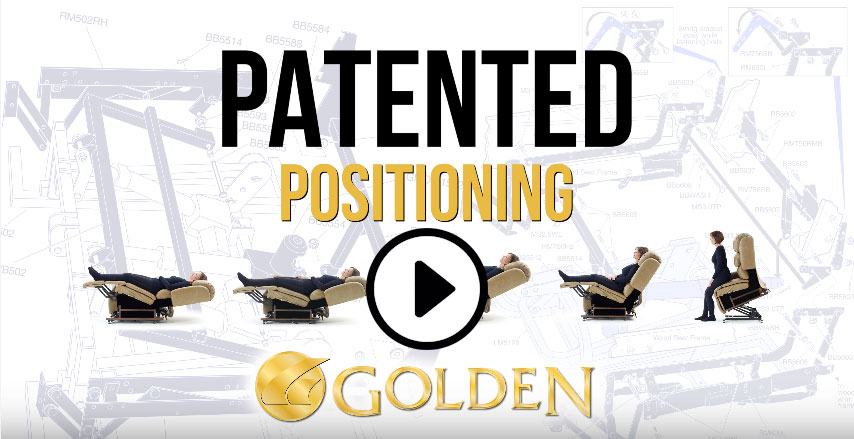 Golden's Patented Positioning