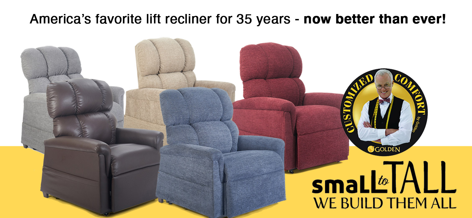 All New MaxiComforter Power Recliner Collection