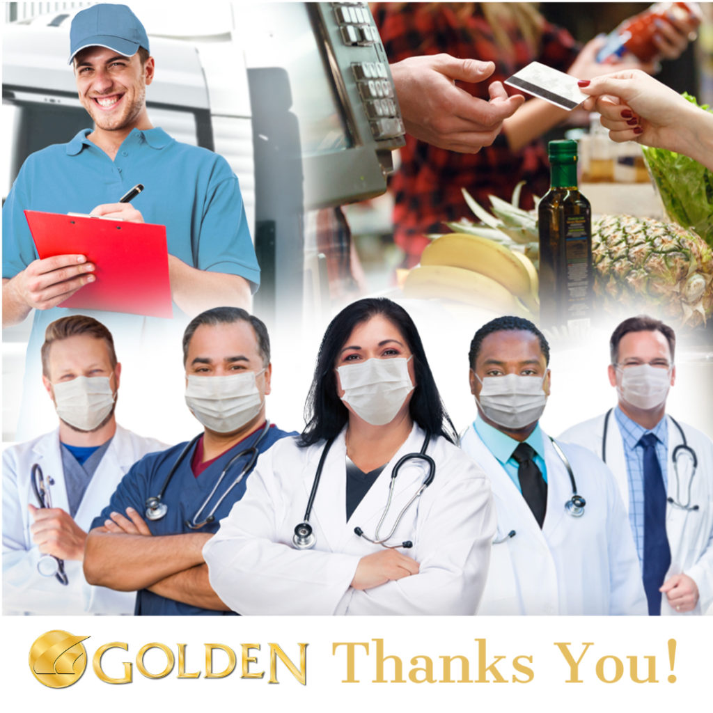 Golden thanks healthcare & community workers with a special discount on power recliners