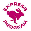 Small Golden Express Program Logo
