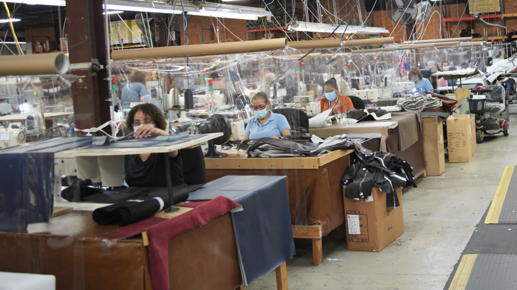 Sewing Machine Operators at Golden Technologies