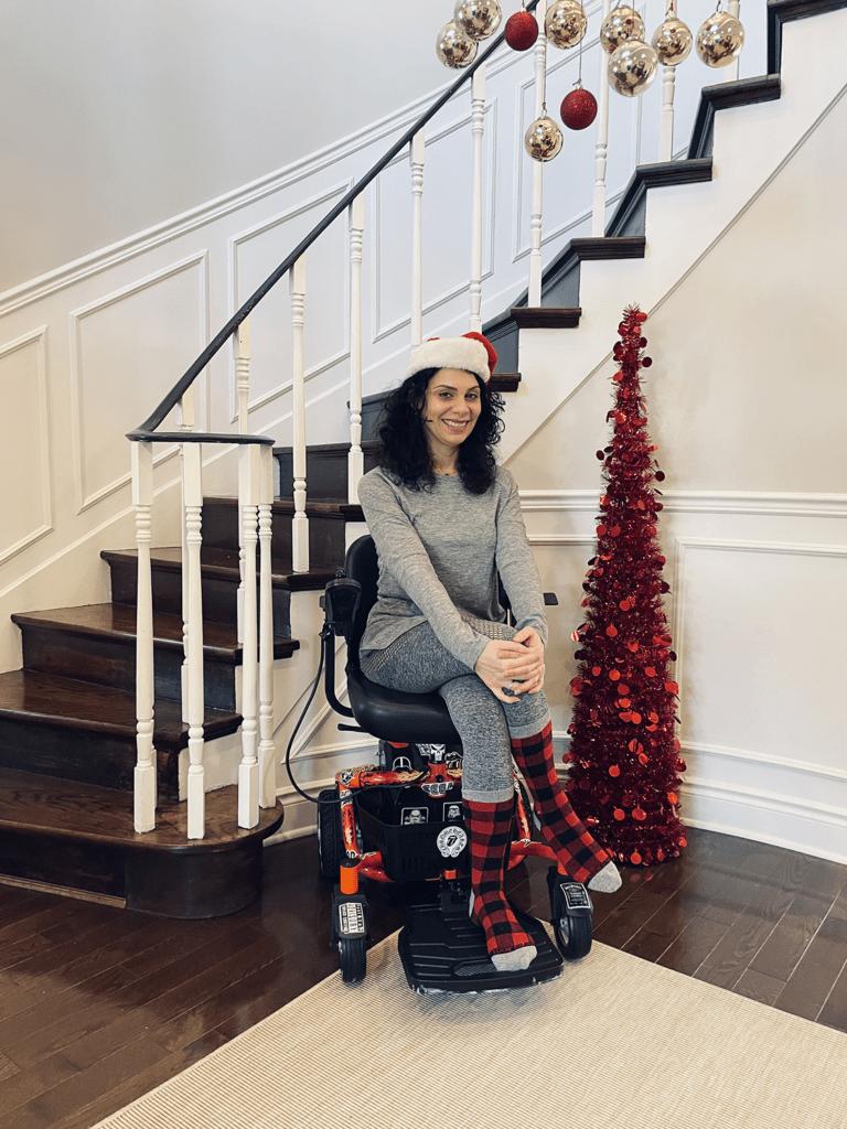Anna Giannakouros During Christmas 2020