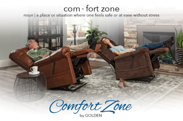 Golden Technologies Comfort Zone Power Lift Chair Recliners
